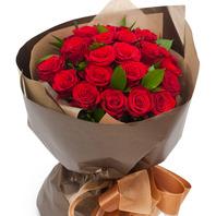 [플라워포유] 빨강장미꽃다발4 (RM_RBC1018) [꽃다발/결혼기념일/크리스마스/프로포즈/화이트데이/발렌타인데이]