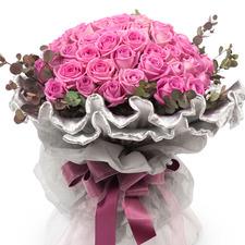 [플라워포유] 핑크로즈 (RM_RBC2010) [꽃다발/결혼기념일/크리스마스/프로포즈/화이트데이/발렌타인데이]