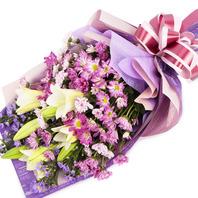 [플라워포유] 아름다운 미소 (RM_RBC2034) [꽃다발/결혼기념일/크리스마스/프로포즈/화이트데이/발렌타인데이]