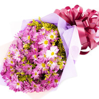 [플라워포유] 핑크소국 (RM_RBC2053) [꽃다발/결혼기념일/크리스마스/프로포즈/화이트데이/발렌타인데이]