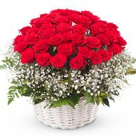 [플라워포유] 그대만의 나 (RM_RAC1052) [꽃바구니/결혼기념일/크리스마스/프로포즈/화이트데이/발렌타인데이]
