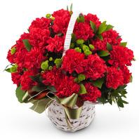 [플라워포유] 은혜 (RM_RAC1059) [꽃바구니/결혼기념일/크리스마스/프로포즈/화이트데이/발렌타인데이/스승의날/어버이날]