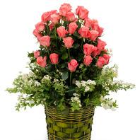 [플라워포유] 내 사랑 여인이여 (RM_RAC2030) [꽃바구니/결혼기념일/크리스마스/프로포즈/화이트데이/발렌타인데이]