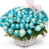 [플라워포유] 널 사랑해 (RM_RAC6121) [꽃바구니/결혼기념일/크리스마스/프로포즈/화이트데이/발렌타인데이]