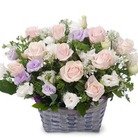 [플라워포유] 고귀한 사랑 (RM_RAC9083) [꽃바구니/결혼기념일/크리스마스/프로포즈/화이트데이/발렌타인데이