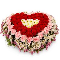 [플라워포유] 하트상자 89c (RM_RCB1019) [꽃상자/결혼기념일/크리스마스/프로포즈/화이트데이/발렌타인데이/로즈데이/기념일/특별한날/생일선물]