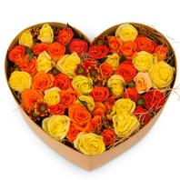 [플라워포유] 하트상자 81c (RM_RCB3017) [꽃상자/결혼기념일/크리스마스/프로포즈/화이트데이/발렌타인데이/로즈데이/기념일/특별한날/생일선물]