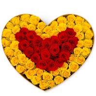 [플라워포유] 하트상자 85c (RM_RCB1025) [꽃상자/결혼기념일/크리스마스/프로포즈/화이트데이/발렌타인데이/로즈데이/기념일/특별한날/생일선물]