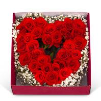 [플라워포유] 하트박스 (RM_RCB3015) [꽃상자/결혼기념일/크리스마스/프로포즈/화이트데이/발렌타인데이/로즈데이/기념일/특별한날/생일선물]