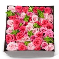 [플라워포유] 핑크 혼합 (RM_RCB3018) [꽃상자/결혼기념일/크리스마스/프로포즈/화이트데이/발렌타인데이/로즈데이/기념일/특별한날/생일선물]