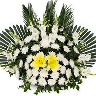 [플라워포유] 영정 바구니(2) [근조/장례식/추모행사/전국화환/즉시배송]