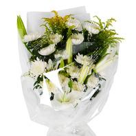 [플라워포유] 근조꽃다발(1) [근조/장례식/추모행사/전국화환/즉시배송]